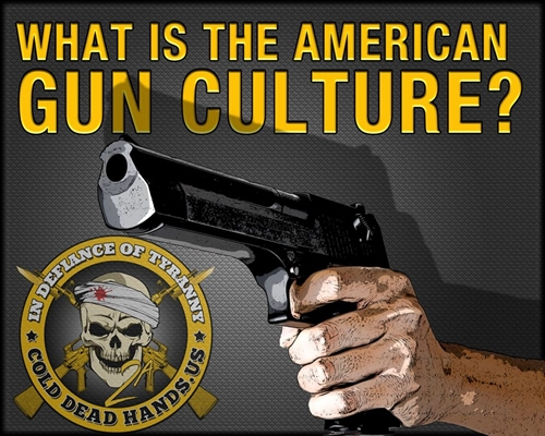 Gun Culture Trinity Ethos: Hunting, Self Defense and National Defense