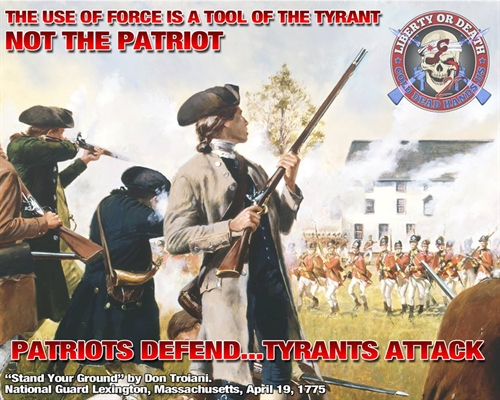 Tyrants attack - Patriots defend