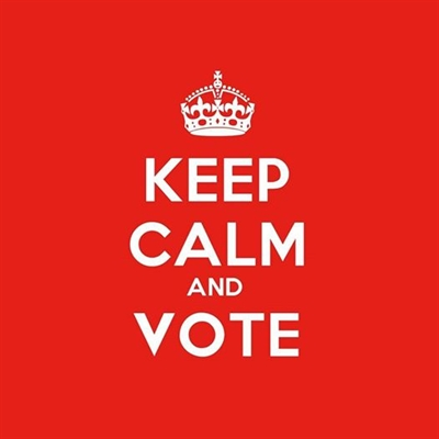 Keep Calm and VOTE!