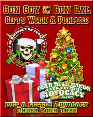 Cold Dead Hands Store - Christmas Spirit For A Good Cause